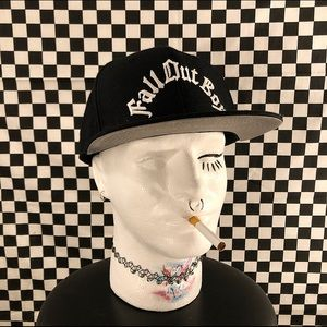 fall out boi embroidered snapback
